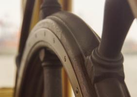 Ships Wheel - Freed to Lead - Bosun